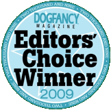 Dog Fancy Magazine Editor's Choice Winner 2009