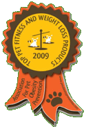 Pet Obesity Prevention awards Port-A-Poo one of the 'Top Pet Fitness and Weight Loss Products of 2009'